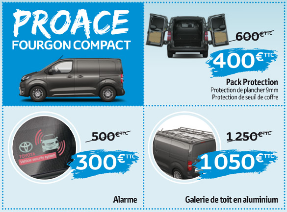 Proace fourgon compact